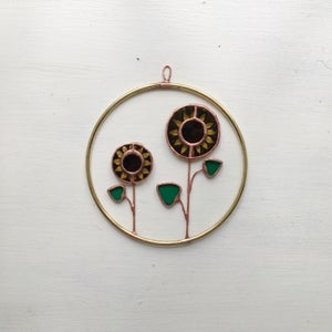 Image of Sunflower Wreath no.1