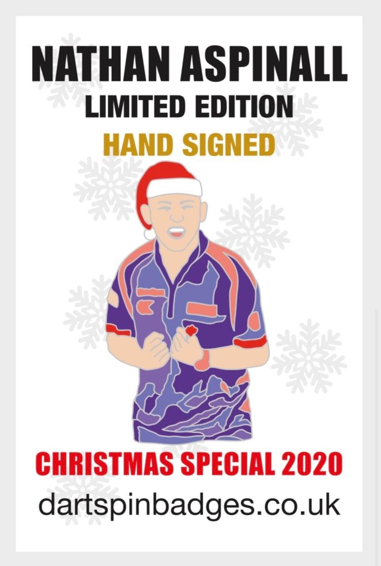 Nathan Aspinall Hand Signed Christmas Special