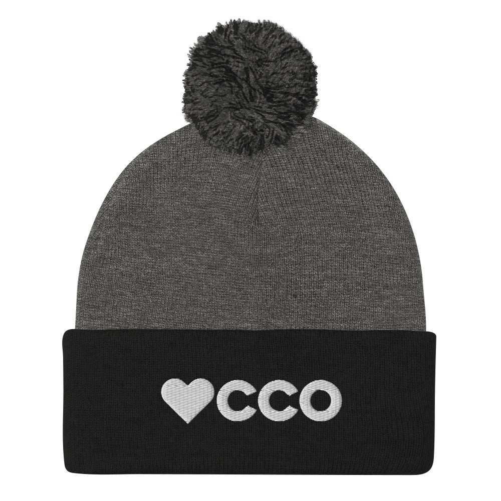 Image of Heart 'CCO Pom-Pom Beanie - More Colors Available