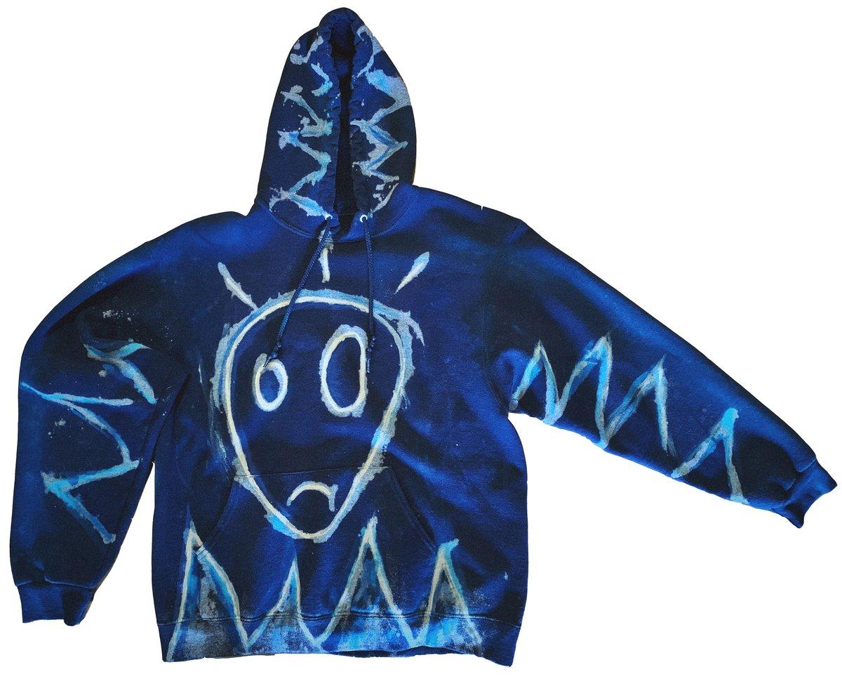 real ones alien - vintage hoodie