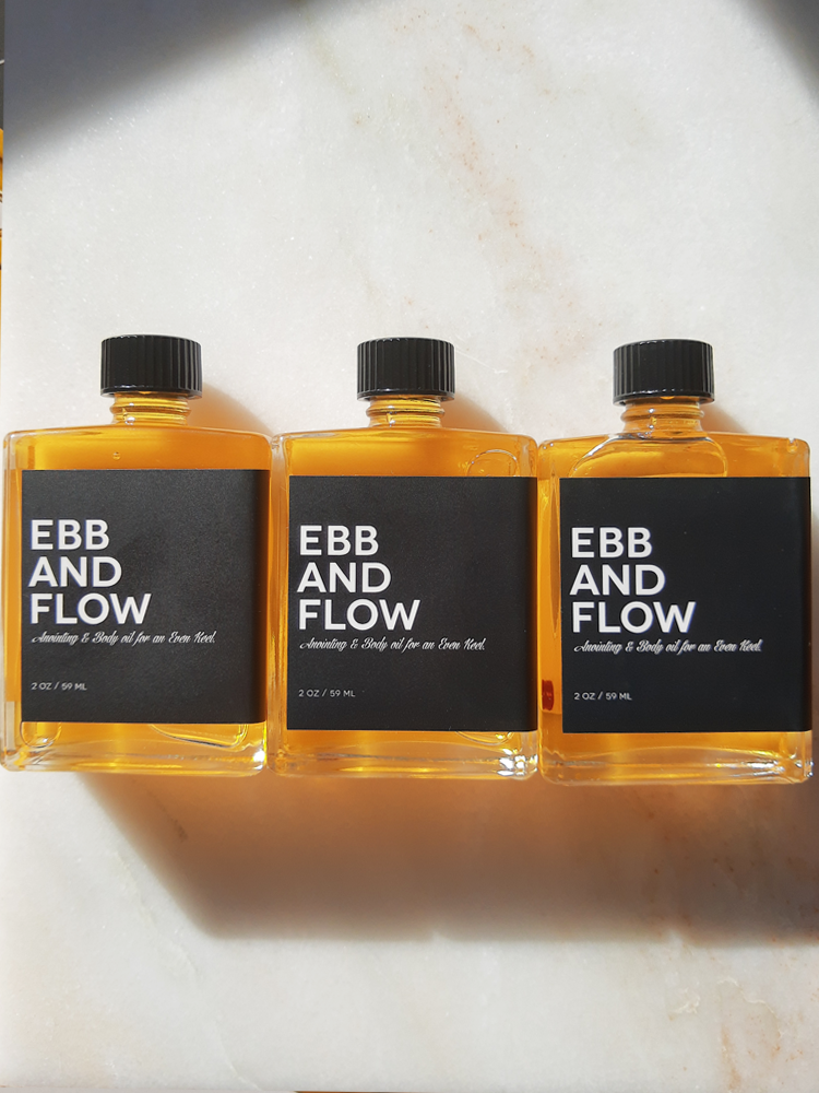EBB AND FLOW, Aromatics for an Even Keel