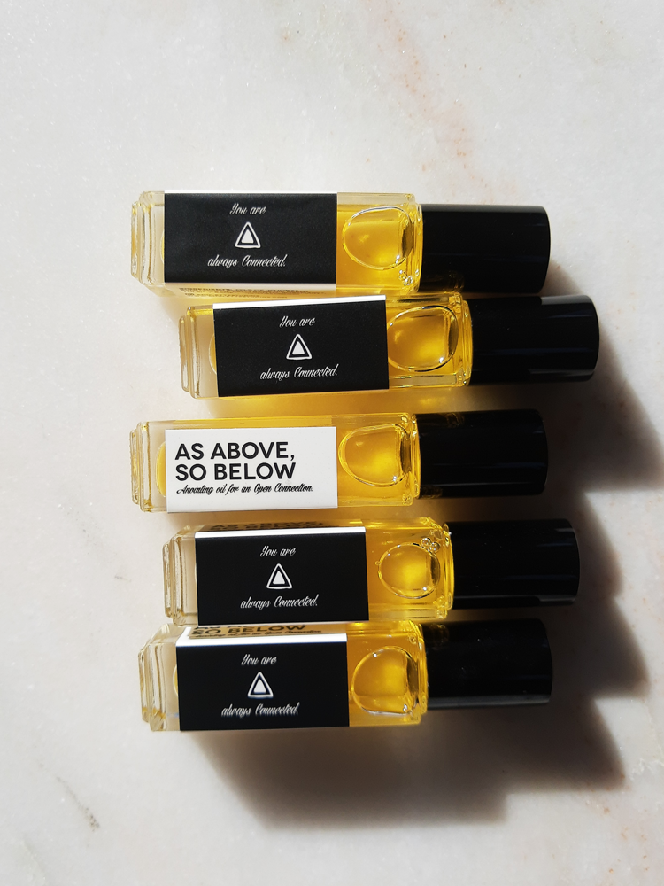 AS ABOVE, SO BELOW, Aromatics for an Open Connection