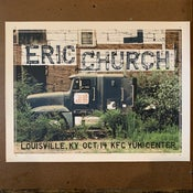 Image of Eric Church Louisville 2012 AP - last example