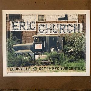 Image of Eric Church Louisville 2012 AP - last example