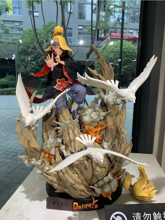 Image of  [In-Stock]Naruto Iron Kite Studio Deidara 1:4 Resin Statue