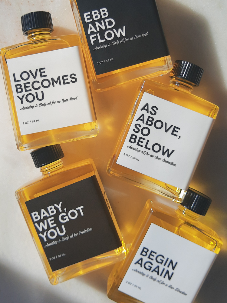 ANOINTING & BODY OIL SET