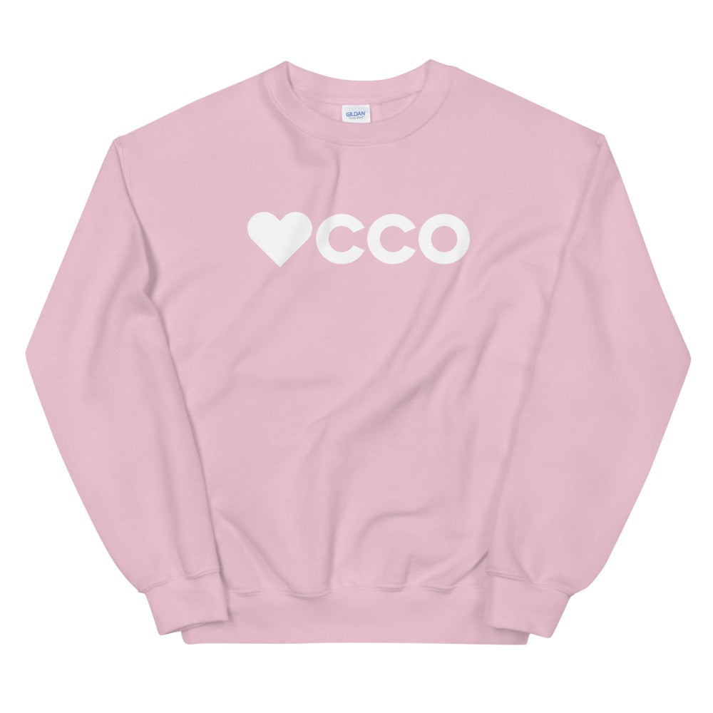 Image of Heart 'CCO Crewneck - More Colors Available