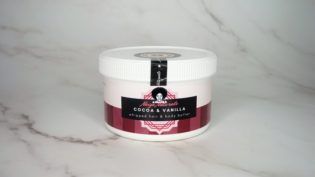Image of Cocoa & Vanilla Whipped Hair and Body Butter (400ml)