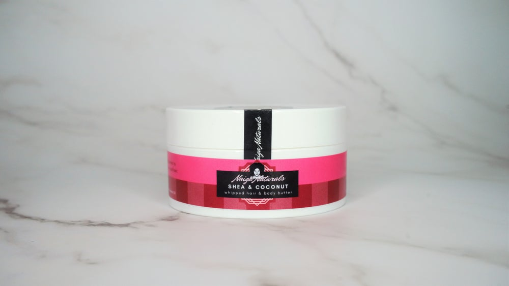 Image of Shea & Coconut Whipped Hair and Body Butter