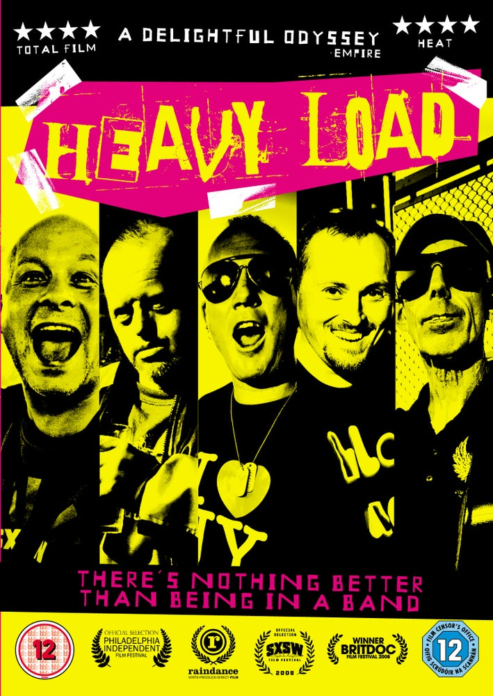 Image of Heavy Load the movie - DVD (NTSC - USA version)