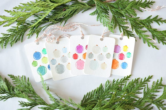 Image of Ornament Gift Tags