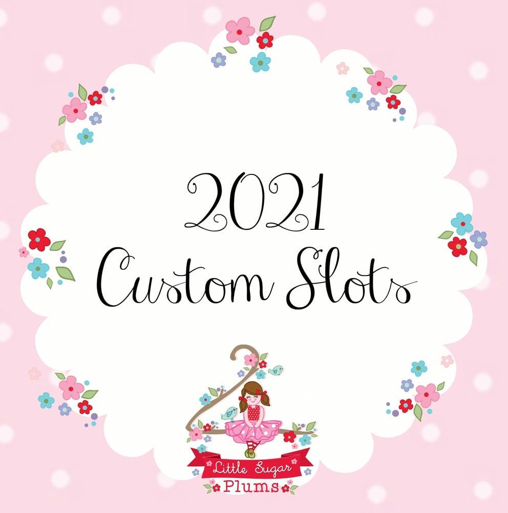 Image of 2021 Custom Slots
