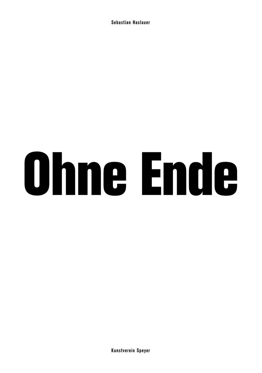 Ohne Ende by Sebastian Haslauer