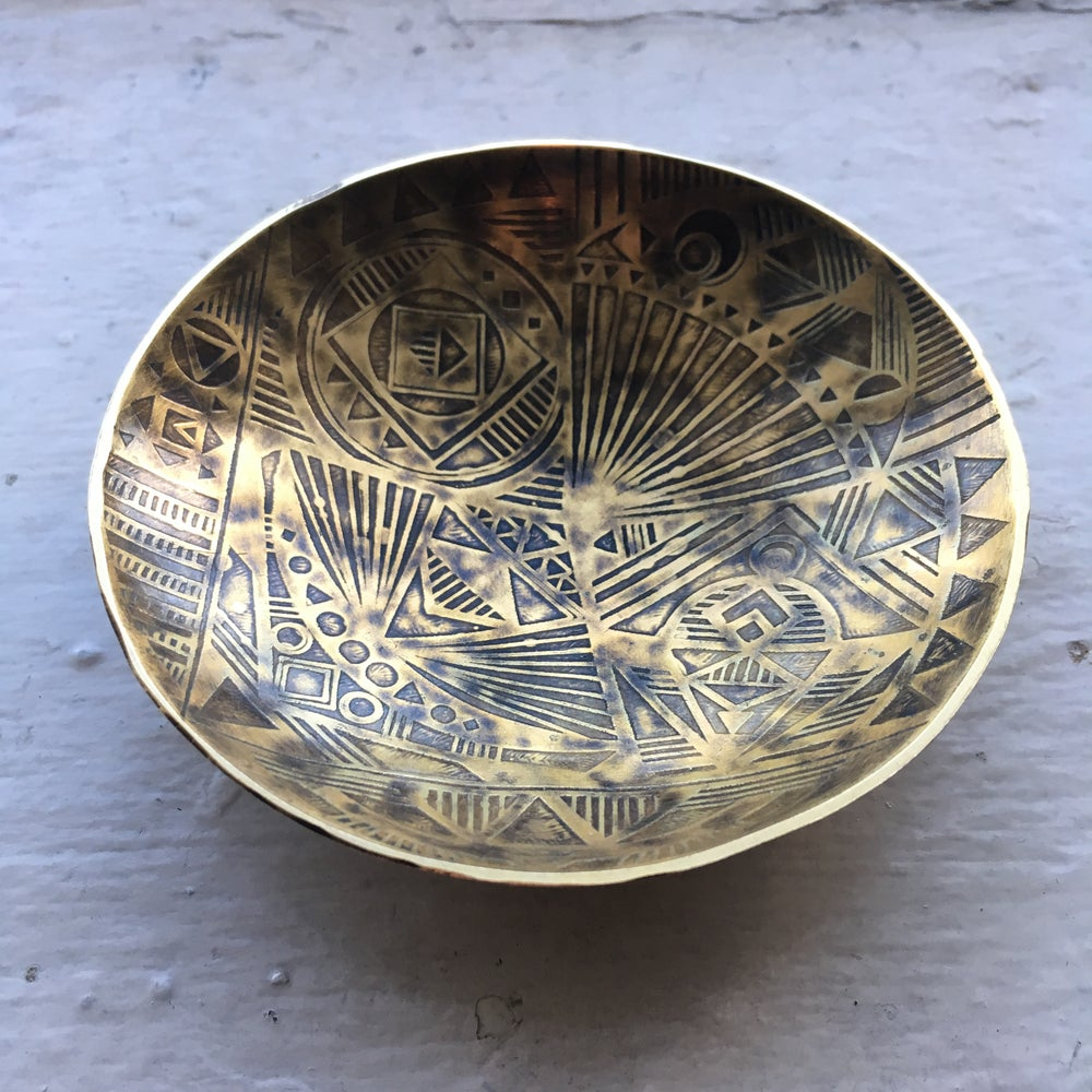 Image of Etched brass catch all
