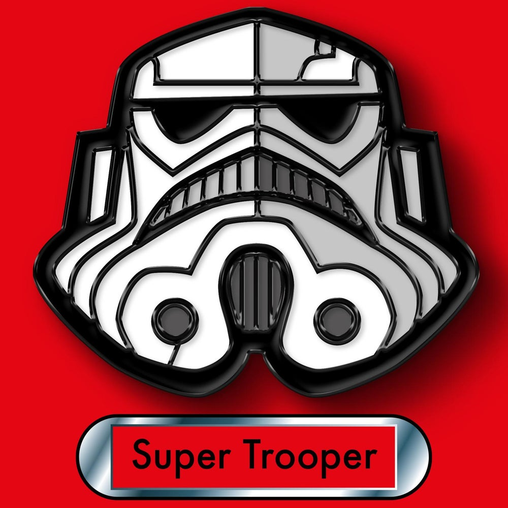 Image of Star Wars Stormtrooper Enamel Pin
