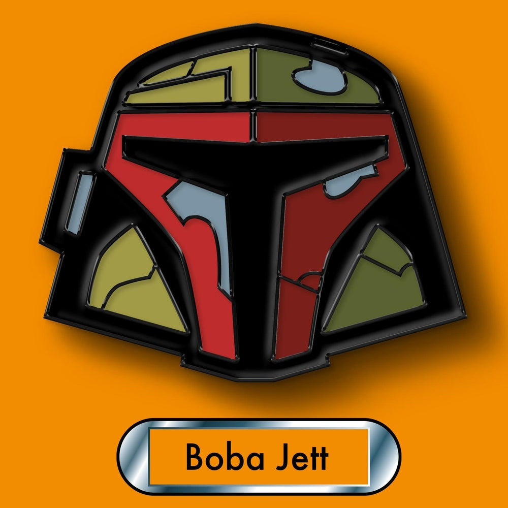 Image of Star Wars Boba Fett Enamel Pin