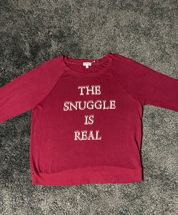 Image of THE SNUGGLE IS REAL (long sleeve)