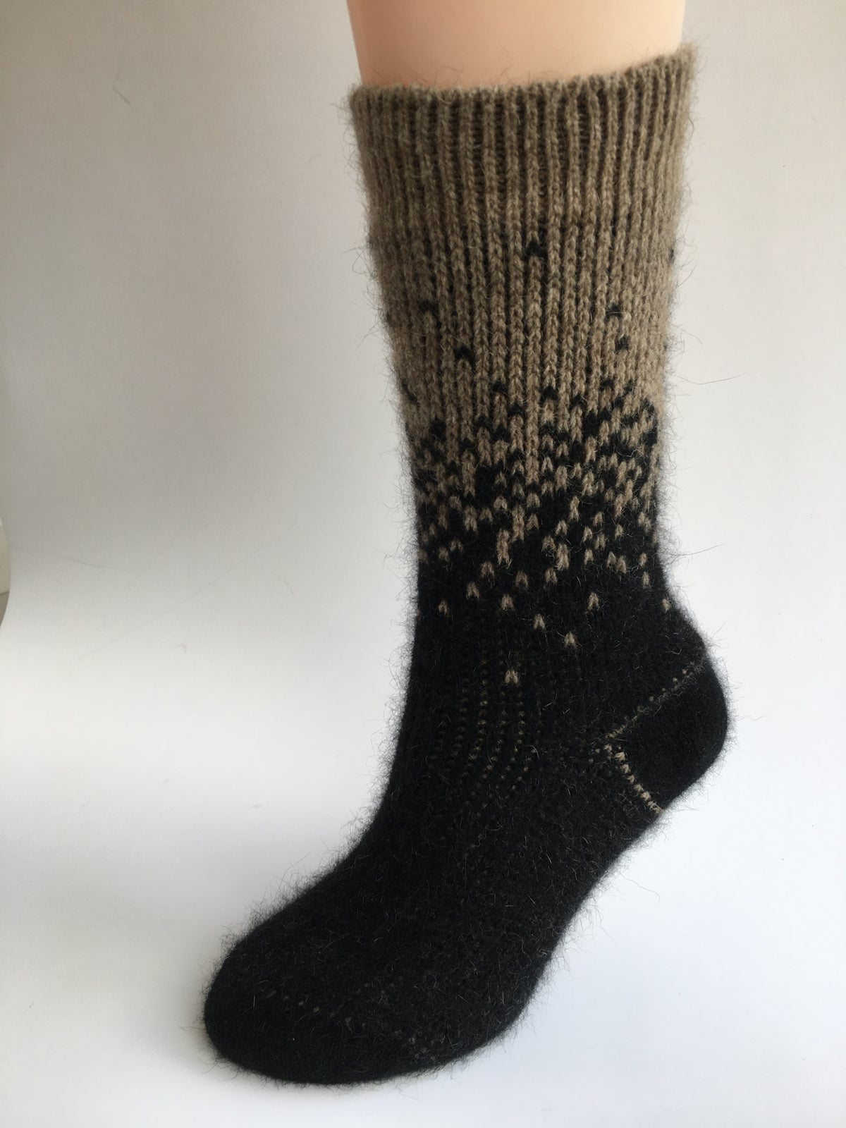 Image of Luxury Possum Adult Socks - Starry Nights