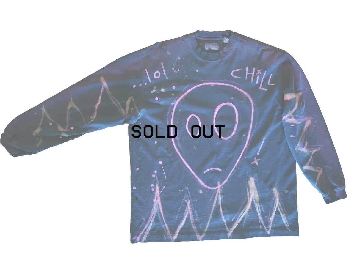lol chill - vintage long sleeve