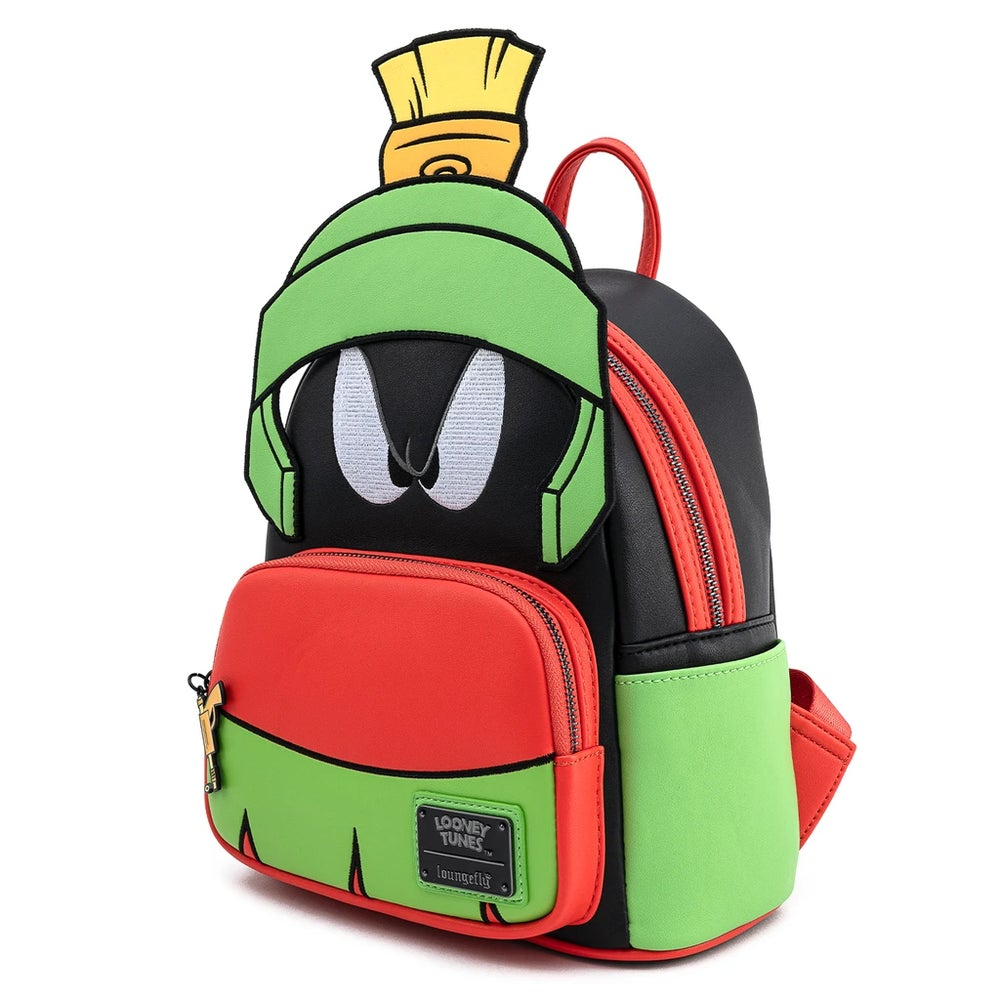 Looney Tunes Marvin The Martian Cosplay Mini Backpack