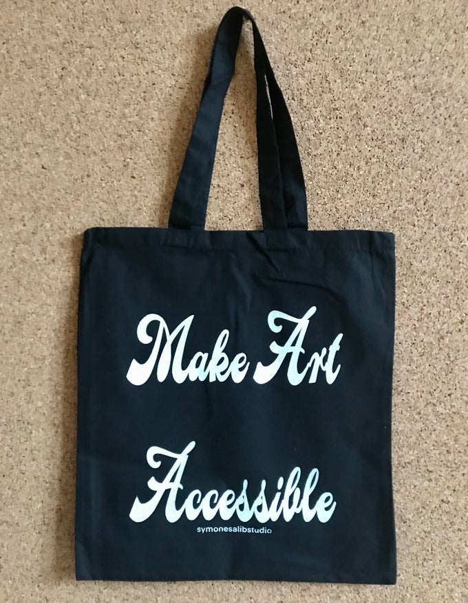 Image of Make Art Accessible Tote