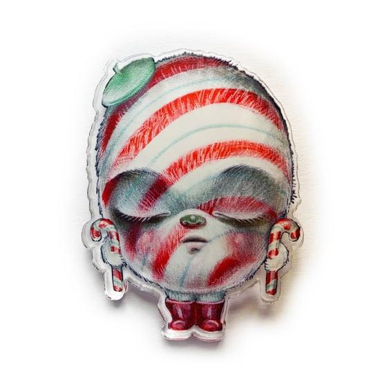 Image of PepperYeti (Acrylic Pin)