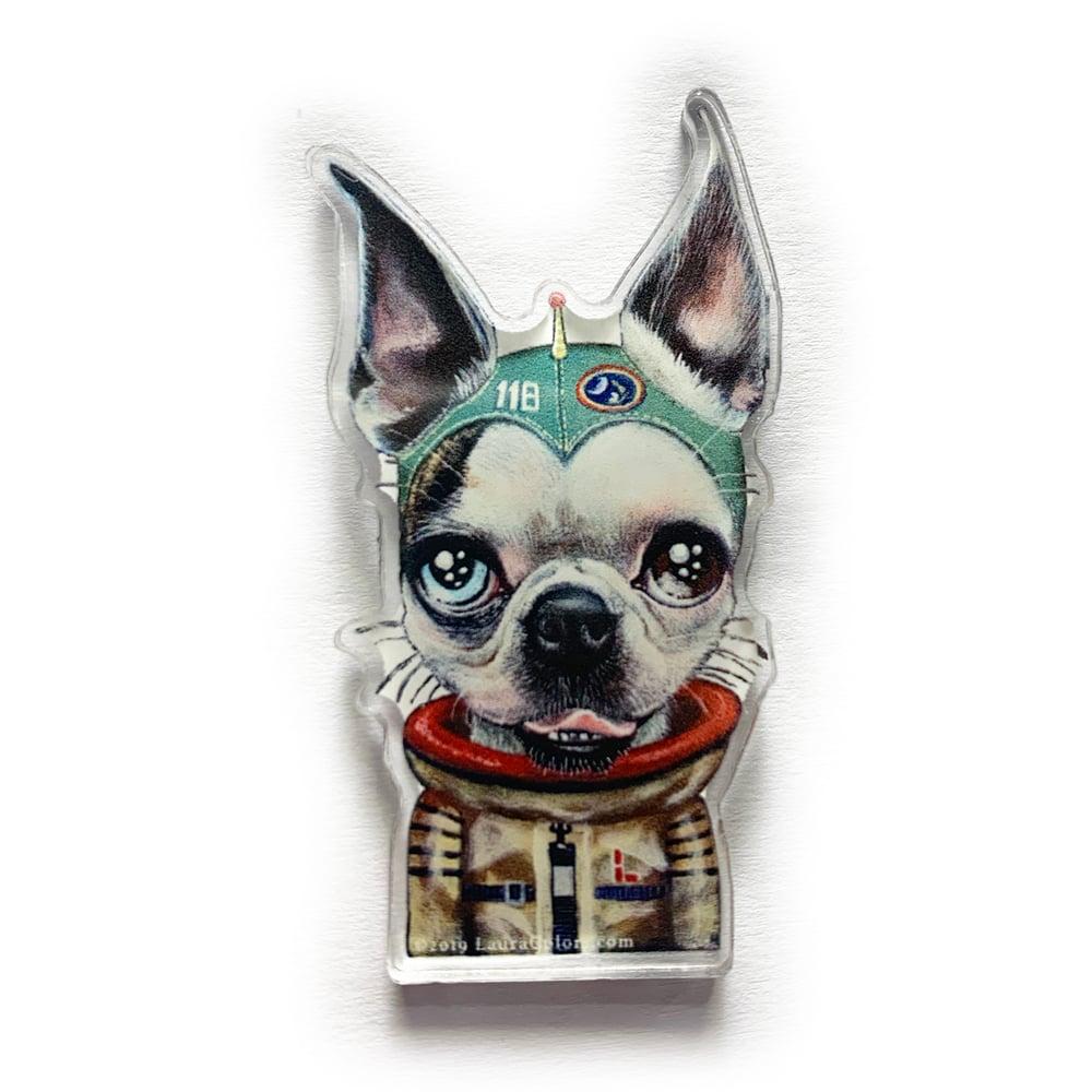 Image of Space Loki (Acrylic Pin)