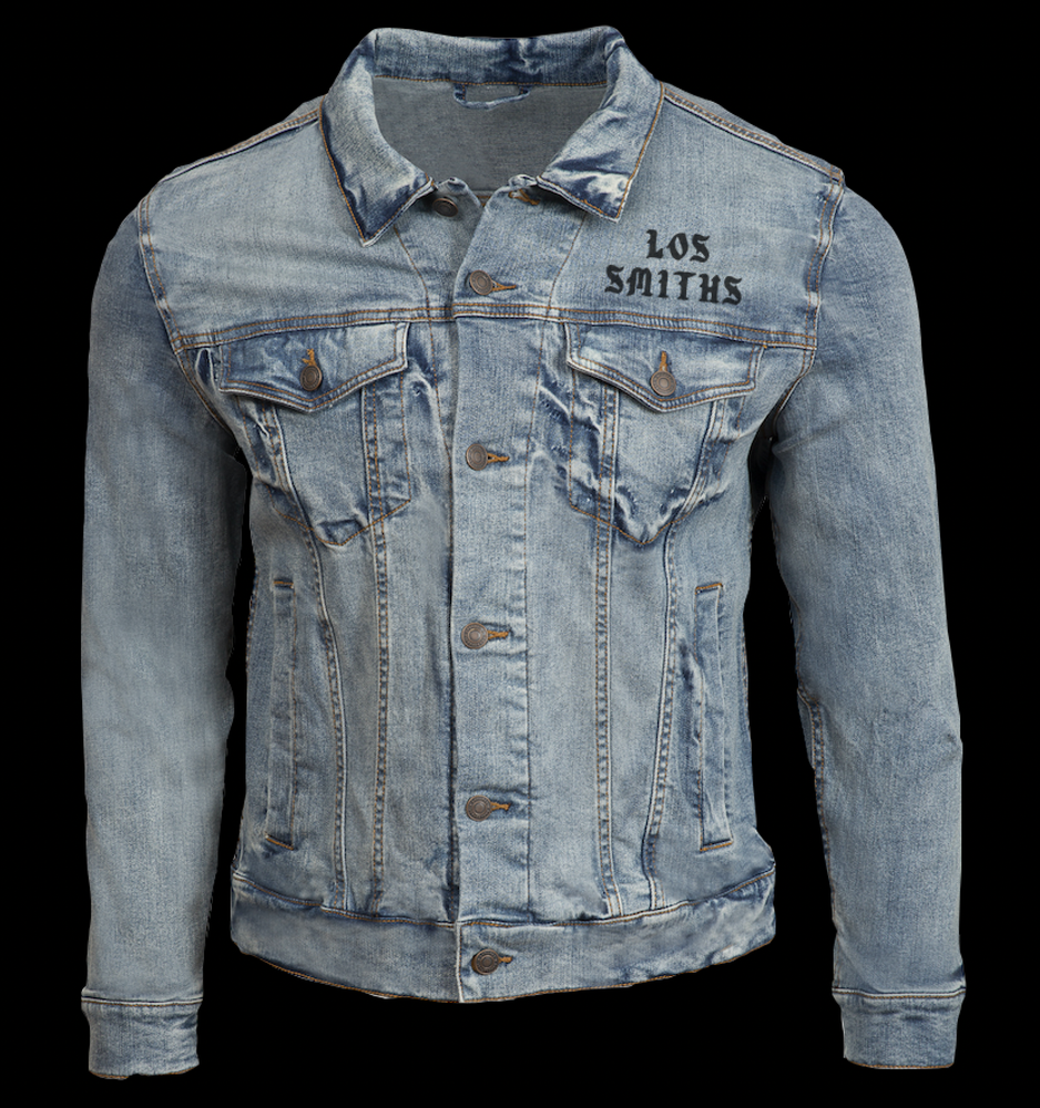 Image of LOS SMITHS DENIM JEAN JACKET (FREE-SHIPPING ON THIS ITEM ONLY)