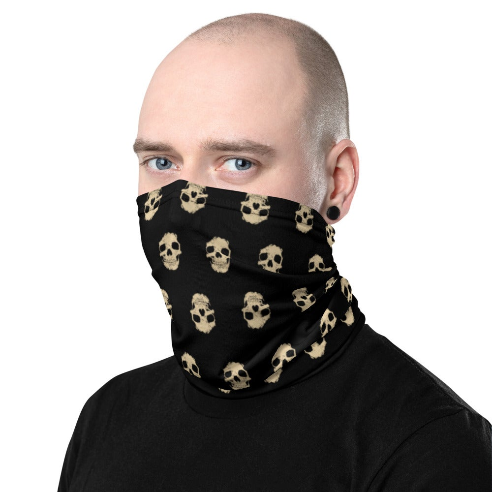 Image of Wall of Skulls Neck Gaiter