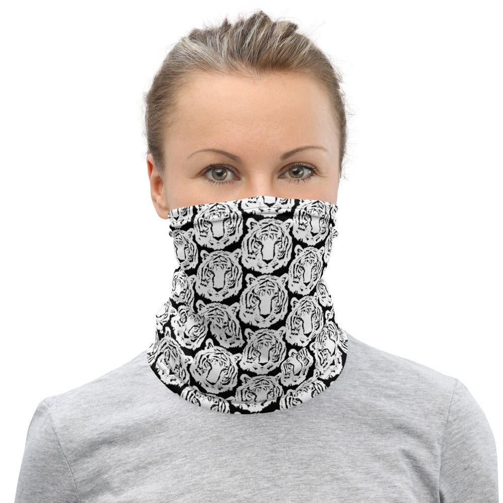 Image of White Tigers Neck Gaiter