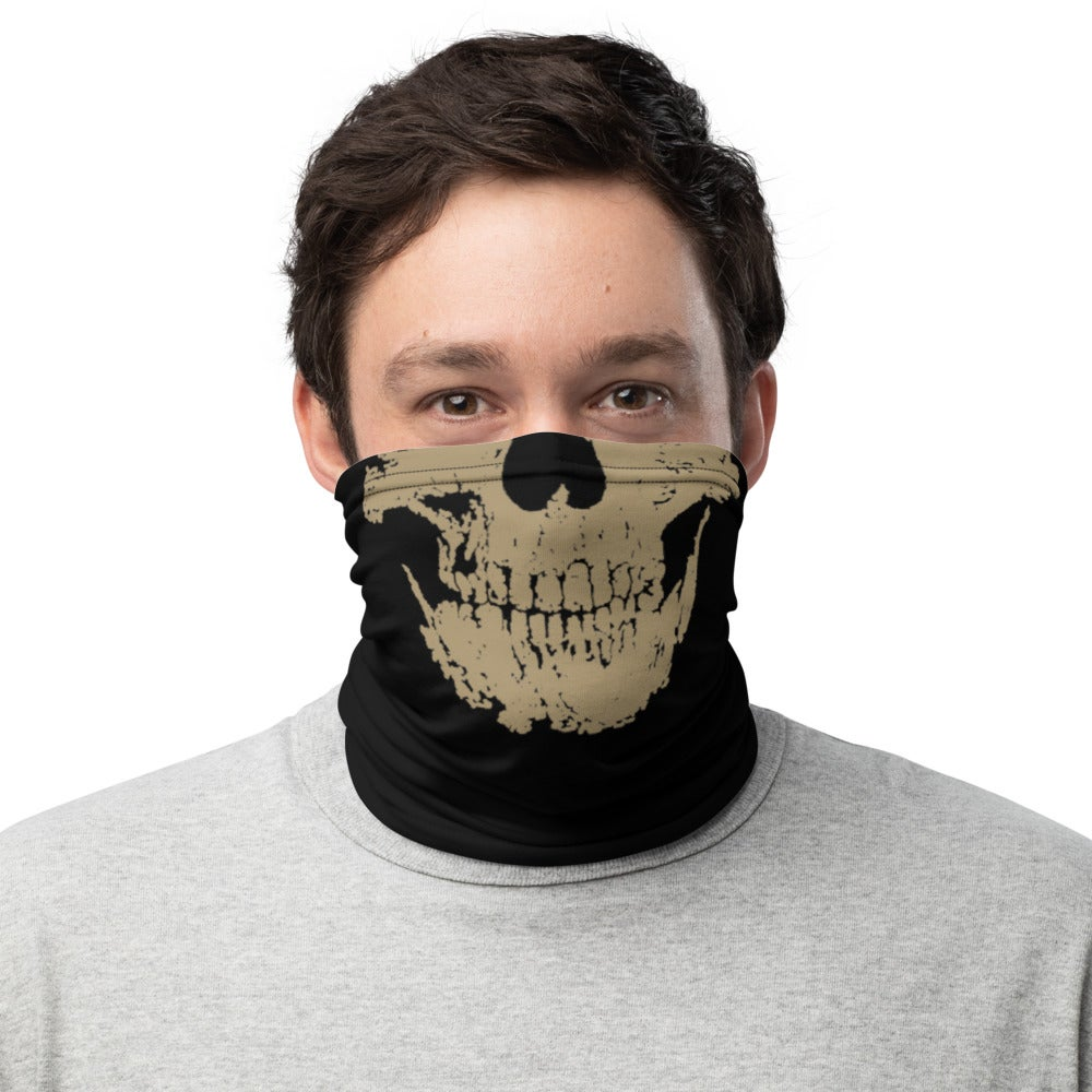 Image of Gold Skull Neck Gaiter