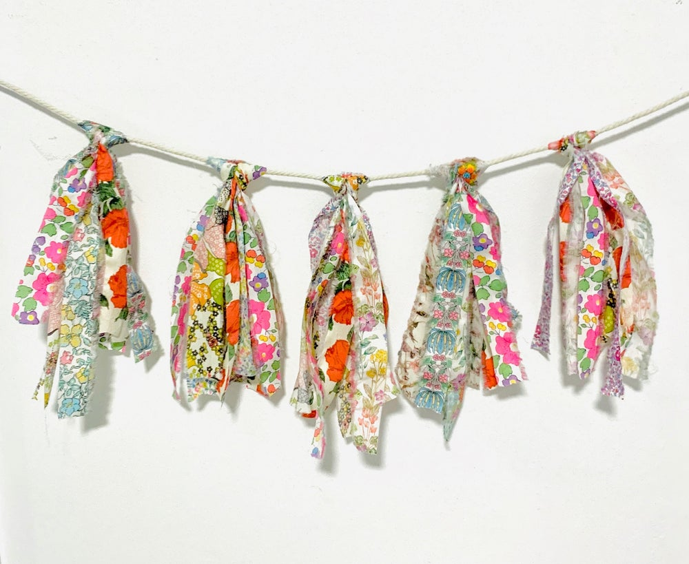 Image of DIY Liberty Fabric Bunting/Garland Kit