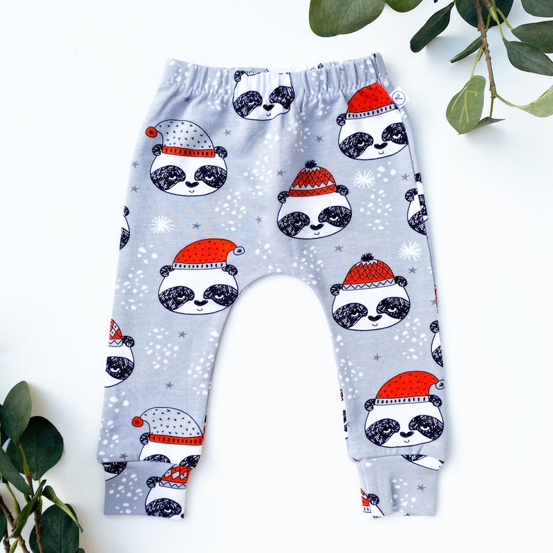 Image of Festive Panda Leggings