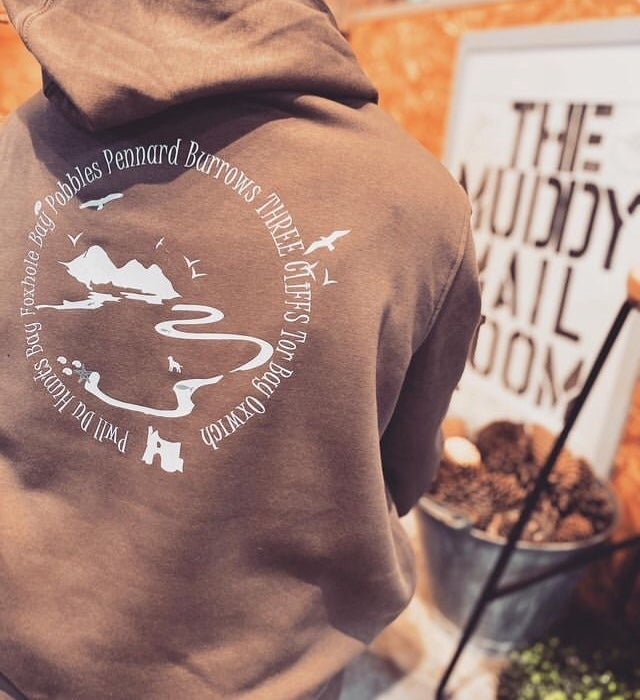 Image of Love Three Cliffs Organic Hoody