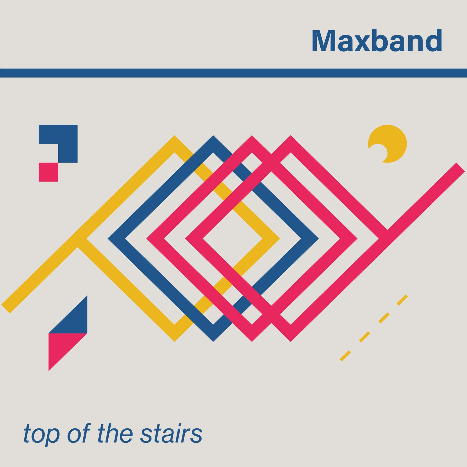 """Image of PRE-ORDER: Maxband - Top of the Stairs 12"""" vinyl"""