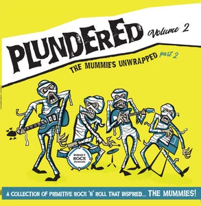 Image of LP.  V.A. : Plundered Vol 2 (More Mummies Unwrapped).