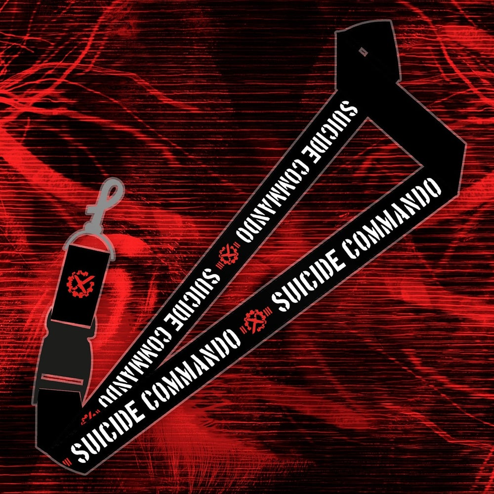 Image of SUICIDE COMMANDO LANYARD (new)