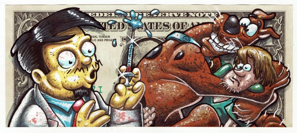 Image of Real Dollar Original. Scooby Vax.