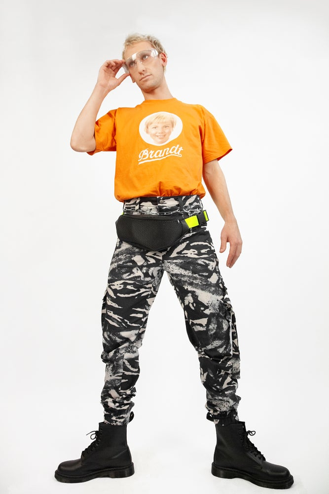 Image of Zebra Cargo Pants