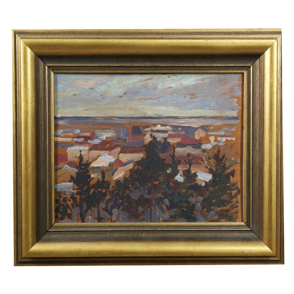 Image of Swedish oil painting,  landscape, HELGE KEMNER (1883 - 1934)