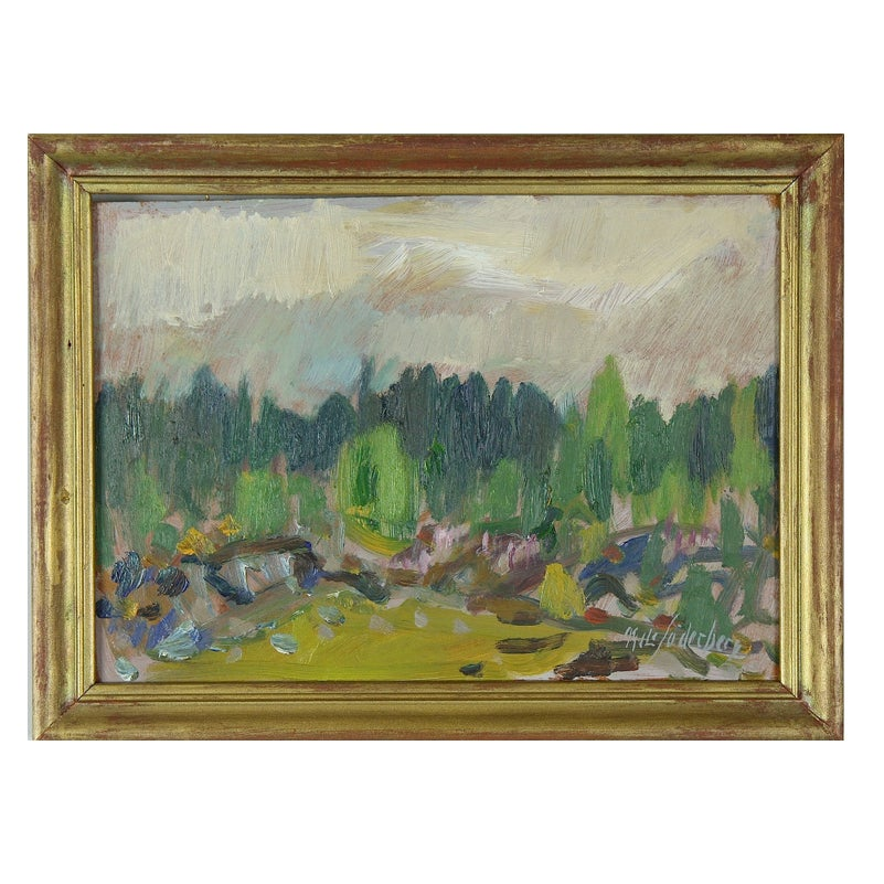 Image of Swedish oil painting, Landscape NILS SÖDERBERG (1903 - 1970)