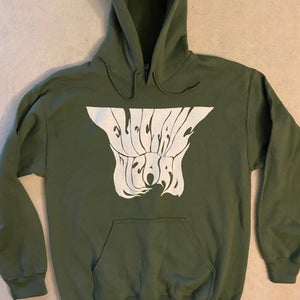 """Image of Electric Wizard """" Ankh """" Green Hoodie"""