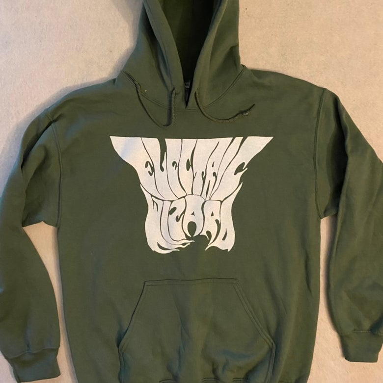 Image of Electric Wizard - Green Hoodie