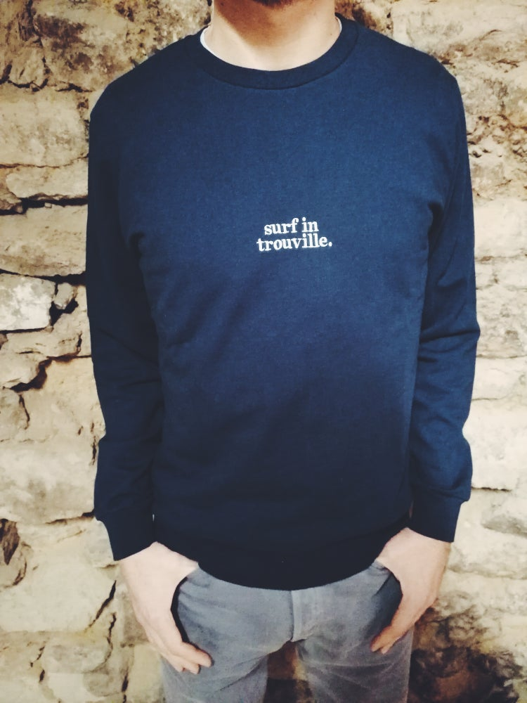Image of SWEAT SHIRT SURF IN TROUVILLE /DEAUVILLE