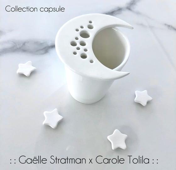 Image of :: Ensemble Lune et tasse :: Gaëlle Stratman x Carole Tolila ::