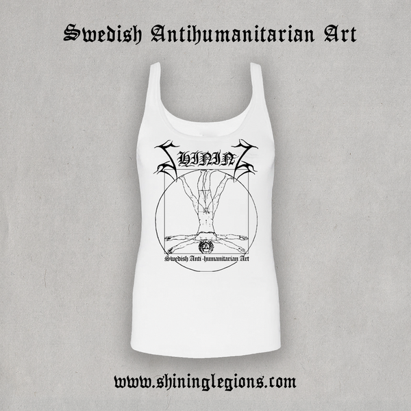 "Image of Shining ""Antihuman White 2020"" Tanktop"