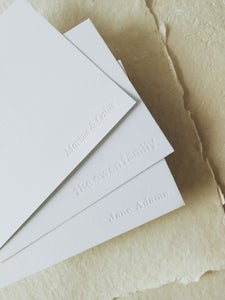 Image of Personalized Correspondence Cards