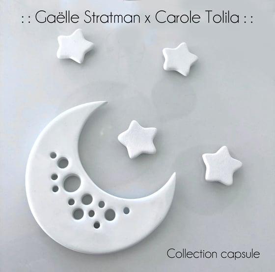 Image of :: Lune pique fleurs :: Gaëlle Stratman x Carole Tolila ::