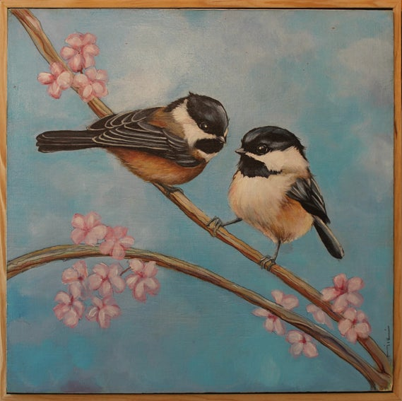 Image of Cute but Complex- Original Painting by Miki Harder