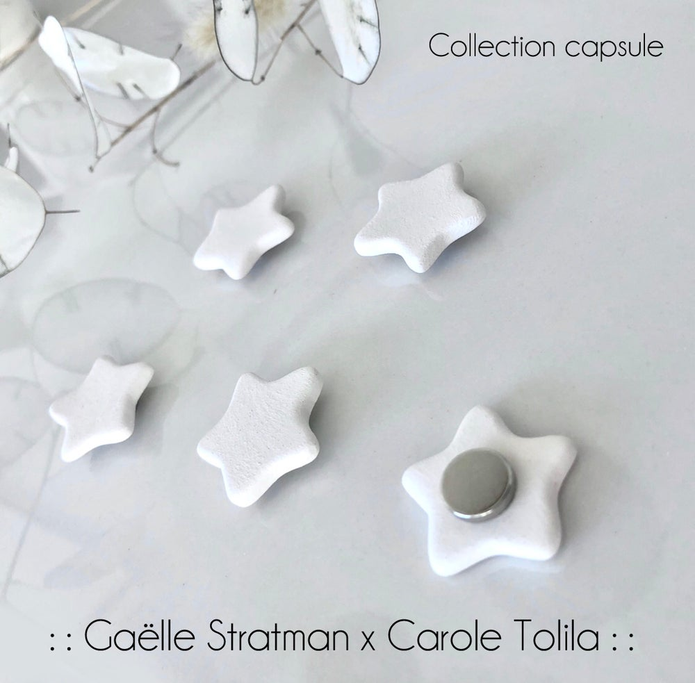 Image of :: Aimants étoiles :: Gaëlle Stratman x Carole Tolila ::